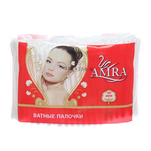 Ватные палочки 200шт ″Amra″ в пакете купить оптом и в розницу