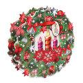 Пакет подарочный 28х27 см ″Рождество″ резной купить оптом и в розницу