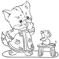 Набор ДТ Роспись по холсту Котенок 63988 Color Puppy купить оптом и в розницу
