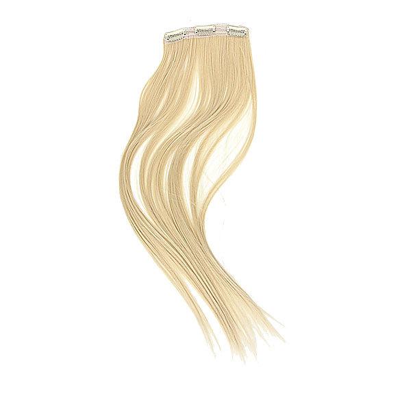 Волосы накладные ″Прядь белая″ на зажимах 13,5*60 см 517-2 купить оптом и в розницу