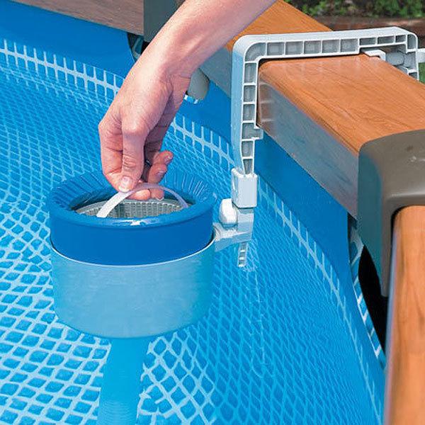 Встроенный скиммер для бассейна своими руками 82