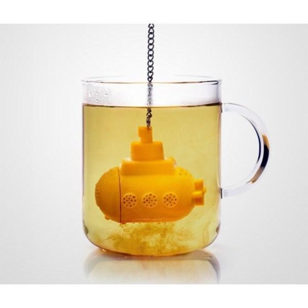 Ситечко для чая силиконовое ″Подводная лодка″ купить оптом и в розницу