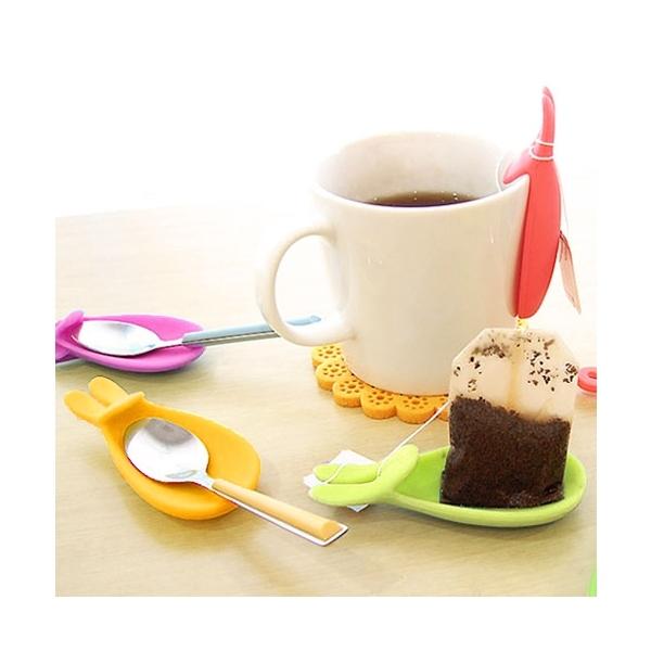 Держатель для чайного пакетика ″Заяц″ купить оптом и в розницу