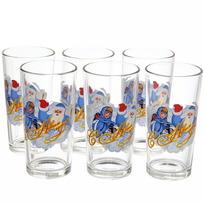 Набор стаканов 6шт ″Дед Мороз″ в подарочной упаковке D1256/06 купить оптом и в розницу