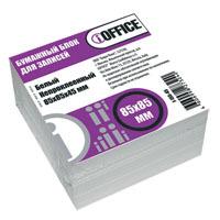 Блок д/запис. 85*85*45 iOffice, непроклеенный, белый 65г/м купить оптом и в розницу