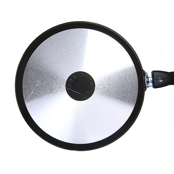 Сковорода блинная 24 см литой алюминий со съемной ручкой КМ-сб240а купить оптом и в розницу