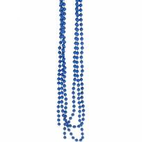 Бусы на ёлку синий 1,5м ″Шарики″ d-6мм купить оптом и в розницу