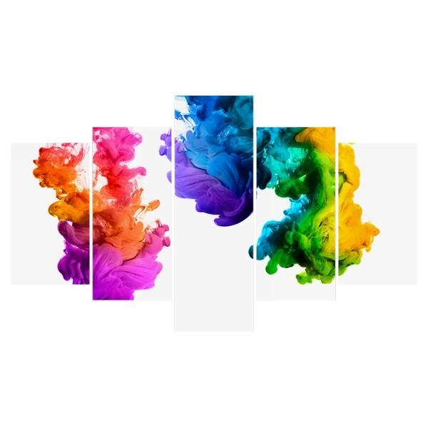 Картина модульная полиптих 75*130 Абстракция диз.2 61-02 купить оптом и в розницу