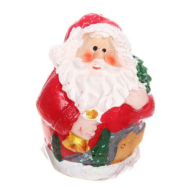 Фигурка ″Дед Мороз с колокольчиком″ 6см купить оптом и в розницу