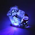 Фигурка ″Снеговичок у Домика ″ с подсветкой 10*11см 1048 купить оптом и в розницу