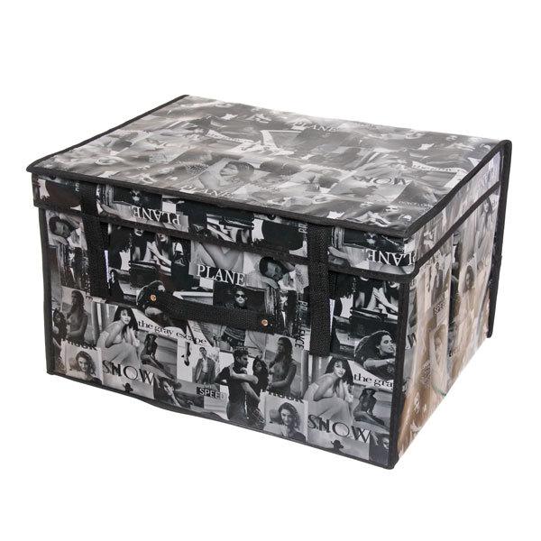 Коробка д/хранения вещей 50*40*30 AB38 купить оптом и в розницу