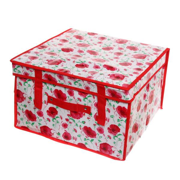 Коробка для хранения вещей 40*40*25 AB404 купить оптом и в розницу