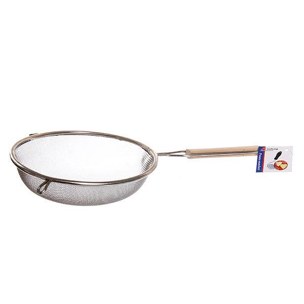 Сито металлическое 18 см с деревянной ручкой купить оптом и в розницу