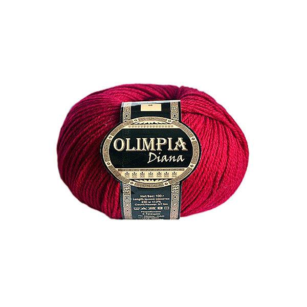 Пряжа для вязания Olimpia Diana цв.24 фуксия 500г 5шт купить оптом и в розницу