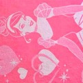 ПЦ-3502-1899 полотенце 70х130 махр п/т Cinderella in Pink цв.10000 купить оптом и в розницу