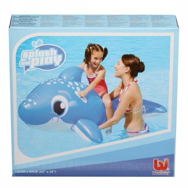 Игрушка для плавания верхом 157*89 см с ручками ″Дельфин″ Bestway (41087B) купить оптом и в розницу