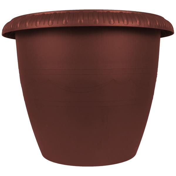 Горшок для цветов ″Le Jardin″ 13л. d35 105-5 Бронза бордо (Р) купить оптом и в розницу
