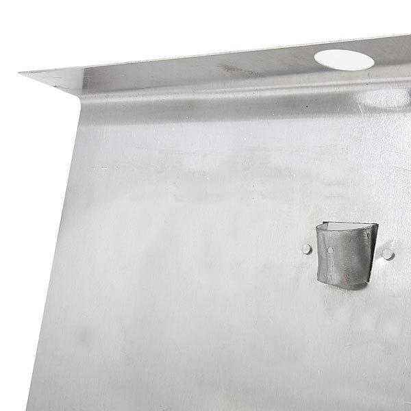 Лопата снеговая алюминевая с планкой 50*60 см купить оптом и в розницу