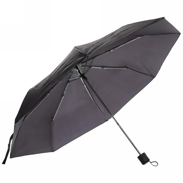 Зонт мужской механический ″Эстет″ цвет черный, 8 спиц, d-95см, длина в слож. виде 23см купить оптом и в розницу