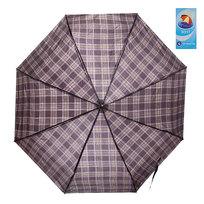 Зонт мужской механический ″Классика″ клетка мелкая d-100см купить оптом и в розницу