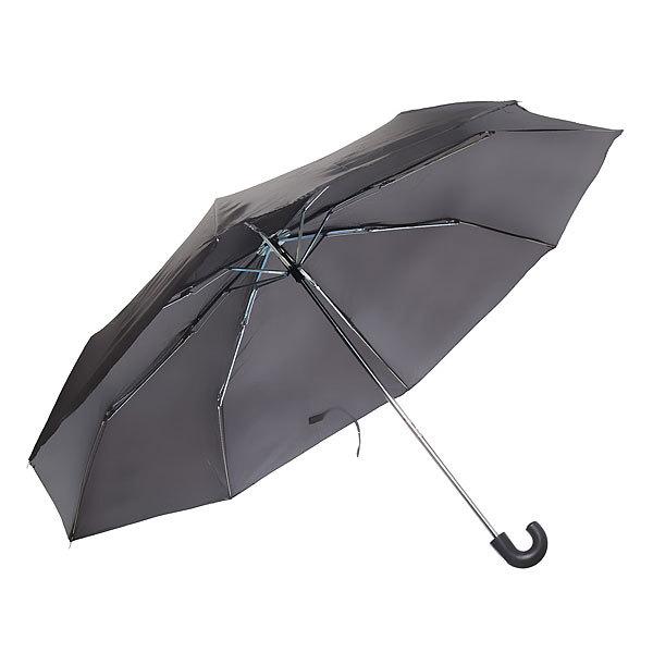 Зонт мужской механический ″Практик″ цвет черный, 8 спиц, d-95см, длина в слож. виде 23см купить оптом и в розницу