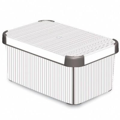 Коробка декоративная STOCKHOLM M Clfssico /10 шт (29,5х19,5х13,5)см Curver купить оптом и в розницу