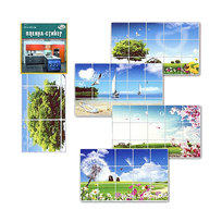 Защитная пленка-стикер 75*45см пейзажи купить оптом и в розницу