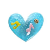 Магнит из пластика ″Сердечко″ 3*3см SF1035 купить оптом и в розницу
