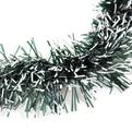 Мишура новогодняя 2 метра 9см ″Иней″ зеленый купить оптом и в розницу