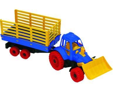 Трактор с грейдером и прицепом 053 Норд /9/ купить оптом и в розницу