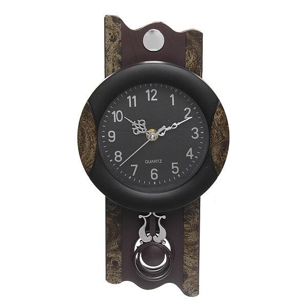 Часы настенные с маятником 35*17,5см 2676-3 купить оптом и в розницу