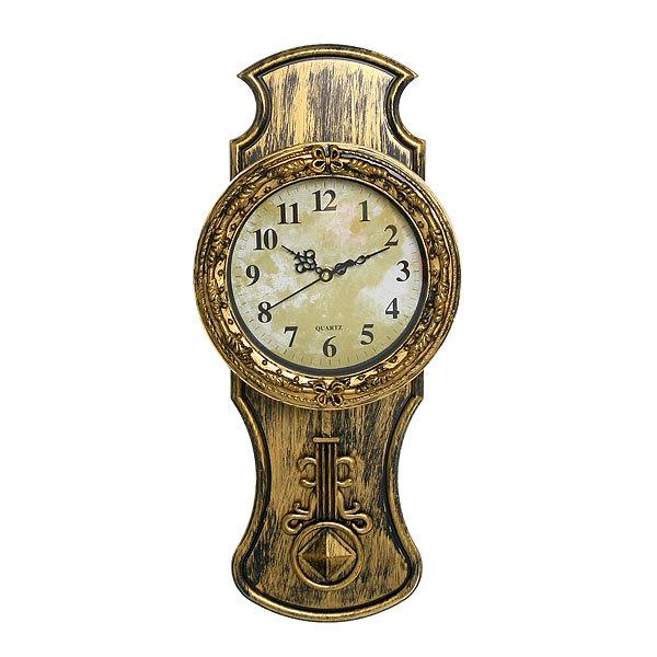 Часы настенные с маятником 45*20см 2824-3 купить оптом и в розницу