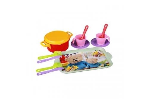 Набор детской посуды пл 2 пр Хозяйка (Октябрьский)*20 купить оптом и в розницу