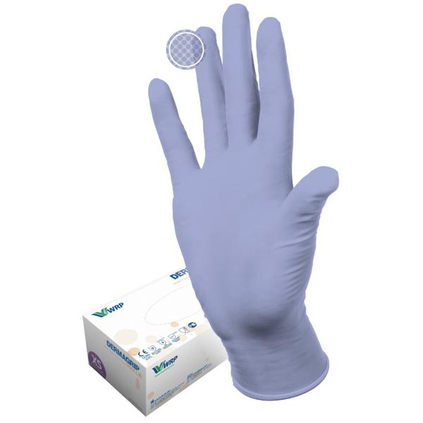 Перчатки DERMAGRIP ULTRA LS нитриловые нестерильные неопудреные 100 пар S купить оптом и в розницу