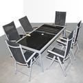 Стол SS6-1 влагостойкий со стеклянной вставкой купить оптом и в розницу