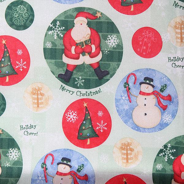 Скатерть 150*220см ″Рождество с друзьями″ купить оптом и в розницу