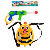 Водный пистолет с рюкзаком для воды ″Пчелка″ Серпантин купить оптом и в розницу