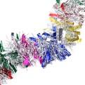 Мишура новогодняя 2 метра 9см ″Калейдоскоп″ микс купить оптом и в розницу