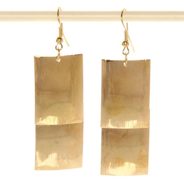 Серьги ″Золотая коллекция″ мотивы Индии 7см 508-21 купить оптом и в розницу