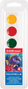 Краски акв.6цв.б/к п/м Erich Krause купить оптом и в розницу