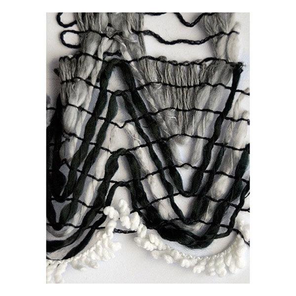 Пряжа для вязания Olimpia Tomiris цв.TM05 черно-белый 500г 5шт купить оптом и в розницу
