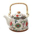 Чайник заварочный керамический 450 мл с ситом ″Китайские узоры″ ХХ661 купить оптом и в розницу