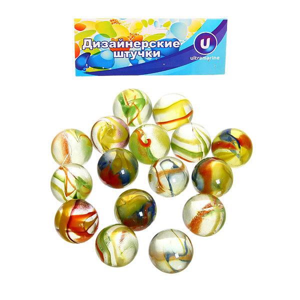 Украшение декоративное стеклянные шарики для дизайна ″Кристальный цветок″ 100гр d16 купить оптом и в розницу