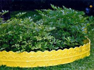Бордюр № 2 (14*310) желтый 1/8 купить оптом и в розницу