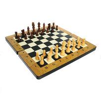 Игра настольная Шахматы-Нарды (дерево) 40х40см 25631 купить оптом и в розницу