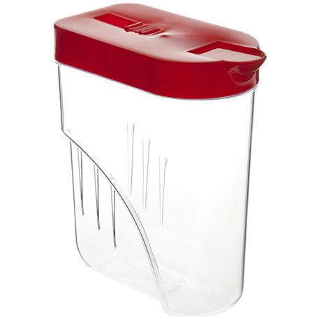 Банка для продуктов пластиковая 1л овальная *32 купить оптом и в розницу