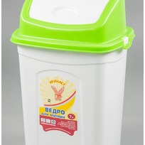 Ведро для мусора 7 л. 1/10 купить оптом и в розницу