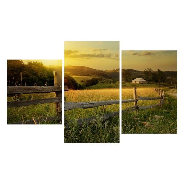 Картина модульная триптих 55*96 Природа диз.3 3-01 купить оптом и в розницу