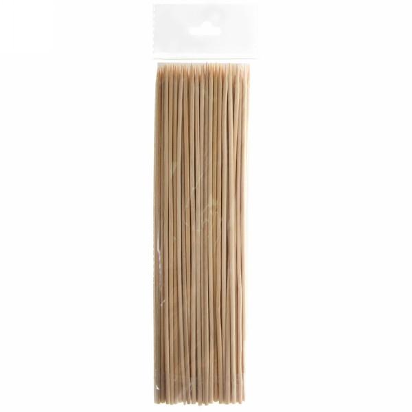 Шпажки деревянные, длина 20см/15шт купить оптом и в розницу