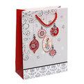 Пакет подарочный 24х18х8 см ″Новогодние Игрушки″ купить оптом и в розницу